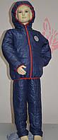 Демисезонный костюм для мальчика из плащевки на синтепоне (3 расцветки)