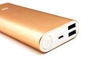 Аккумулятор зарядное Power Bank 16000 Xiaomi Gold