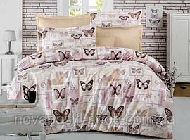 Постельное белье с бабочками Butterfly Beige