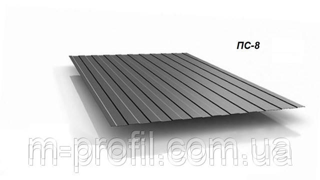 Профнастил ПС-8 оцинковка 0,40мм, фото 2