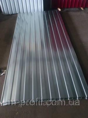 Профнастил С-8 оцинковка 0,33мм, фото 2