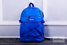 Рюкзак в стиле Supreme синий