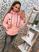 Женская стильная короткая куртка, р.р 42-48, 3 цвета