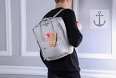 Рюкзак в стиле Fjallraven Kanken classic серый