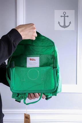 Рюкзак в стиле Fjallraven Kanken classic зеленый, фото 2