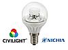 Светодиодная лампа P45 WP25V4 ceramic clear