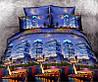 Двуспальный комплект постельного белья евро 200*220 хлопок  (5643) TM KRISPOL Украина