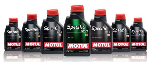 Моторное масло Motul серии Specific