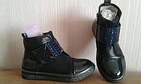 Ботинки для девочек лаковые Том.М