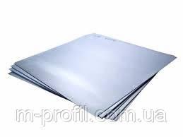 Гладкий лист, оцинковка 0,22х1000, фото 2