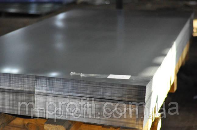 Гладкий лист, оцинковка 0,45х1250, фото 2