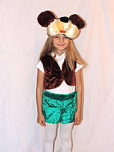 """Карнавальный детский меховой костюм """"Микки Маус"""" для мальчика (2 цвета), фото 2"""