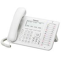 Системный телефон Panasonic KX-DT546RU White (цифровой) для АТС Panasonic