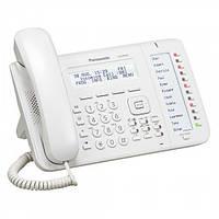 Проводной IP-телефон Panasonic KX-NT553RU White для АТС Panasonic KX-TDE/NCP/NS