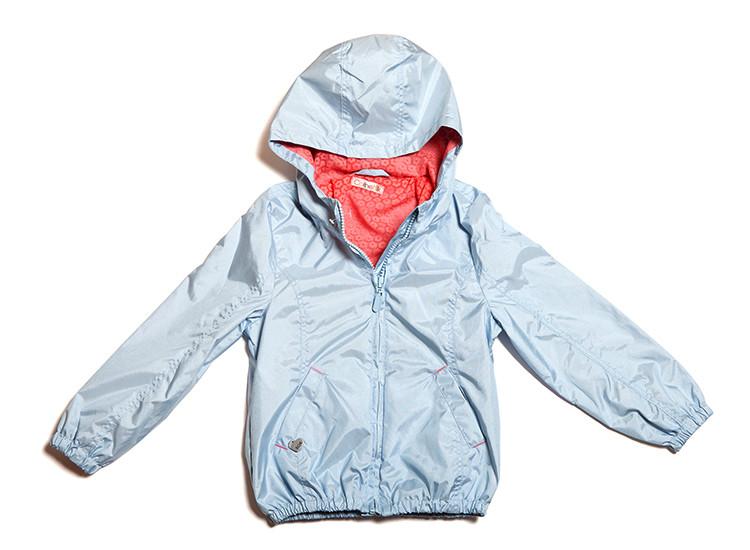 Стильная детская куртка-ветровка (110-134)