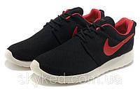 Кроссовки Nike Roshe Run Red/Black, фото 1