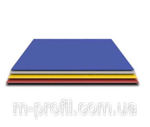 Гладкий лист, цветной 0,25х1000, фото 2