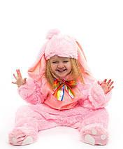 """Детский карнавальный меховой костюм """"Зайчик"""" для малышей (3 цвета), фото 2"""