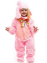 """Детский карнавальный меховой костюм """"Зайчик"""" для малышей (3 цвета), фото 3"""