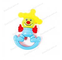 Погремушка-грызунок Веселый Клоун