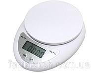 Весы кухонные электронные WH-B05/6123, 5кг, LUO /00-4