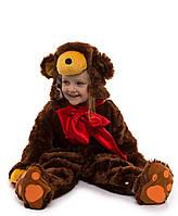 """Детский карнавальный меховой костюм """"Мишка"""" для малышей"""