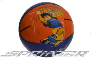 Мяч баскетбольный SPRINTER №7 2047.Желто-фиолетовый.
