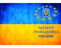 Кожаная обложка на паспорт Украина