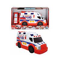 «Скорая» со звуковыми и световыми эффектами 3308360 ТМ: Dickie Toys