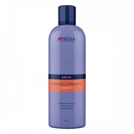 Шампунь для выпрямления волос Keratin Straight Indola 300 мл.