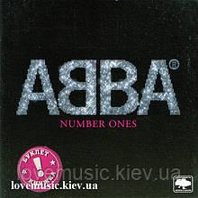 Музичний сд диск ABBA Number one (2006) (audio cd)
