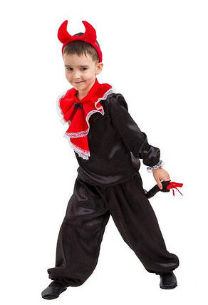 """Детский карнавальный костюм """"Чёртик"""" для мальчика, фото 2"""