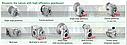 Редуктор насадной цилиндрический с паралельными валами  HYDRO-MEC F32/3A, фото 3