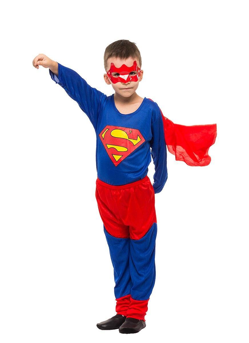"""Детский карнавальный костюм """"Супермен"""" для мальчика"""