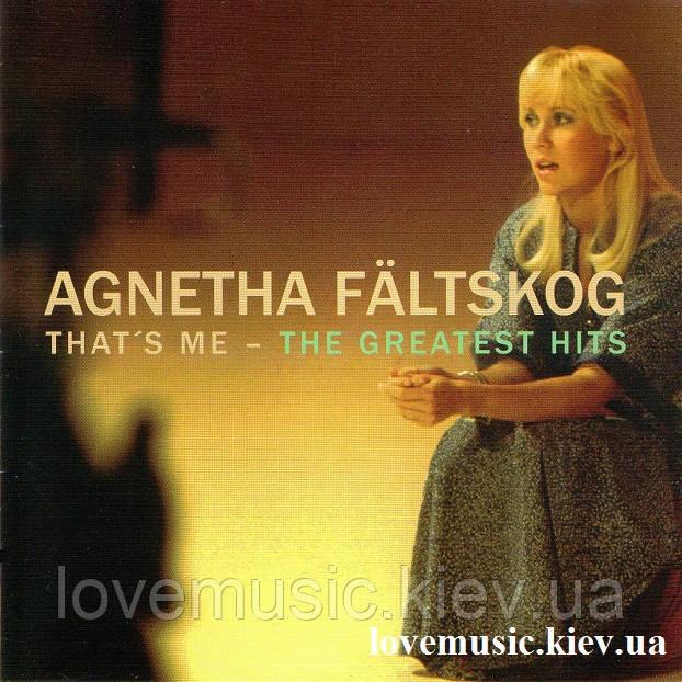 Музичний сд диск AGNETHA FALTSKOG That's me The greatest hits (1998) (audio cd)