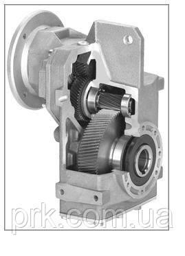 Редуктор насадной цилиндрический с паралельными валами  HYDRO-MEC F52/3A