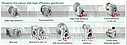 Редуктор насадной цилиндрический с паралельными валами  HYDRO-MEC F52/3A, фото 3