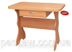Обеденный стол простой с ящиком