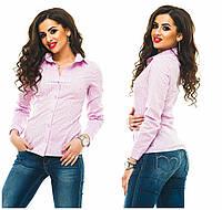 Рубашка (42, 44, 46, 48) — котон  купить оптом и в Розницу в одессе 7км