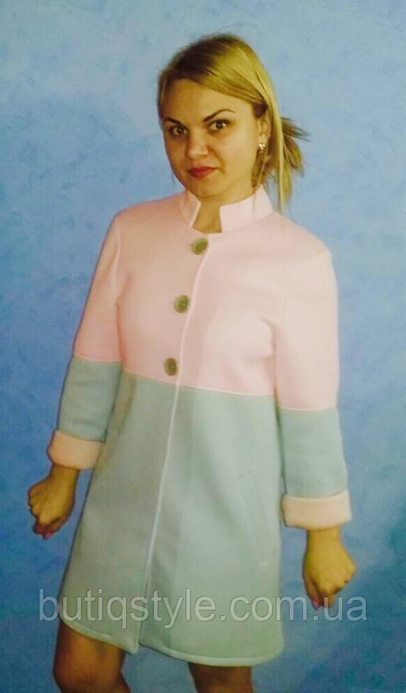 Женское красивое короткое пальто
