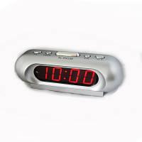 Часы-будильник vst 716-1, настольные, электронные, классический дизайн, возможность выбора сигнала, 220в