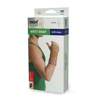 Бандаж на лучезапястный сустав с ребрами жесткости 8551 Med textile, (Украина)