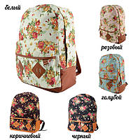 Рюкзак с цветами городской купить в киеве