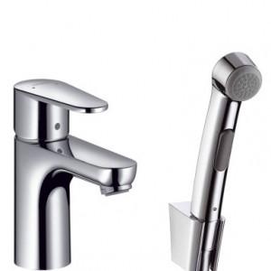 Смеситель для умывальника с гигиеническим душем Hansgrohe Talis E2   31165000