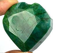 Натуральный изумруд- сердце  385 карат от студии LadyStyle.Biz, фото 1