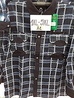Мужская рубашка, байка (XL-5XL) — купить оптом в Украине Одесса 7км прямой поставщик склад