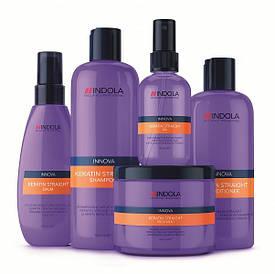 Выпрямление волос с Indola Professional Keratin Straight.