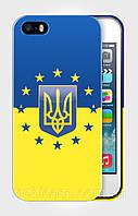 "Чехол для для iPhone 4/4s""UKRAINE IN EU 1"""""