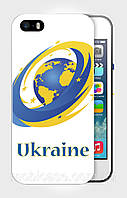"Чехол для для iPhone 4/4s""UKRAINE IN EU 3"""