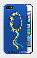 "Чехол для для iPhone 4/4s""UKRAINE IN EU 4"""